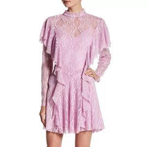 Free People Rock Candy Wisteria Lace Dress